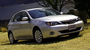 With full-time all-wheel-drive, the2008 Subaru Impreza takes some beating when it comes to winter driving.