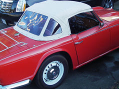 TR4A red car