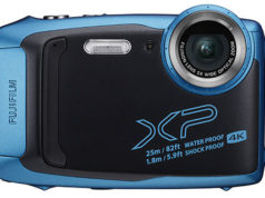 The FujiFilm FinePix XP140 comes in five cool colours.