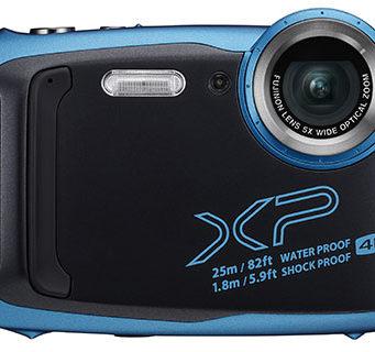 The FujiFilm FinePix XP140 comes in five cool colours.
